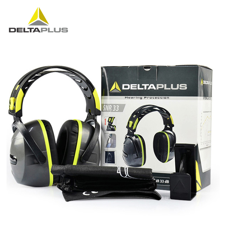 DeltaPlus 103009 Soundproof Earmuffs Anti-noise Sleeping Earplugs Professional Industrial headphones ZXH4301DeltaPlus 103009 Soundproof Earmuffs Anti-noise Sleeping Earplugs Professional Industrial headphones ZXH4301