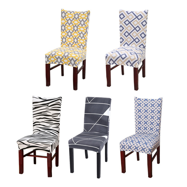 Kitchen Seat Covers Magnetic Timer Chair Cover Stretch Office Slipcovers For Armchairs Dining Computer Chairs Spandex