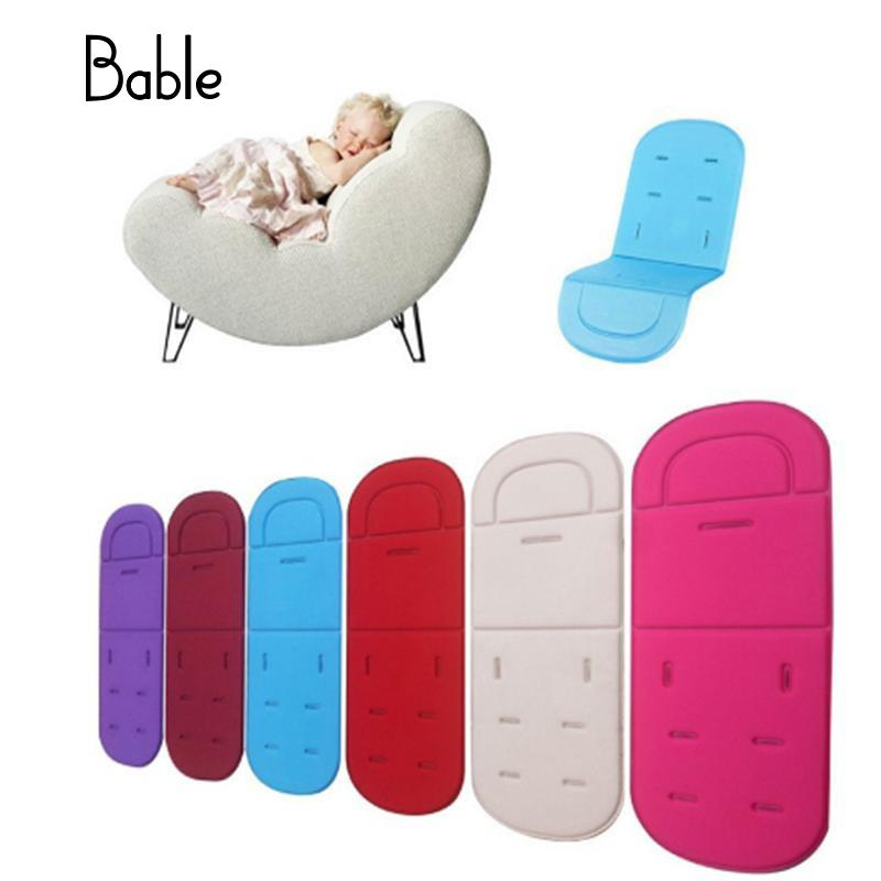 Soft Car Seat Pad Liner Skin-Friendly Fabrics Fashion Accessories Baby Product Mat Stroller Universal Accessories