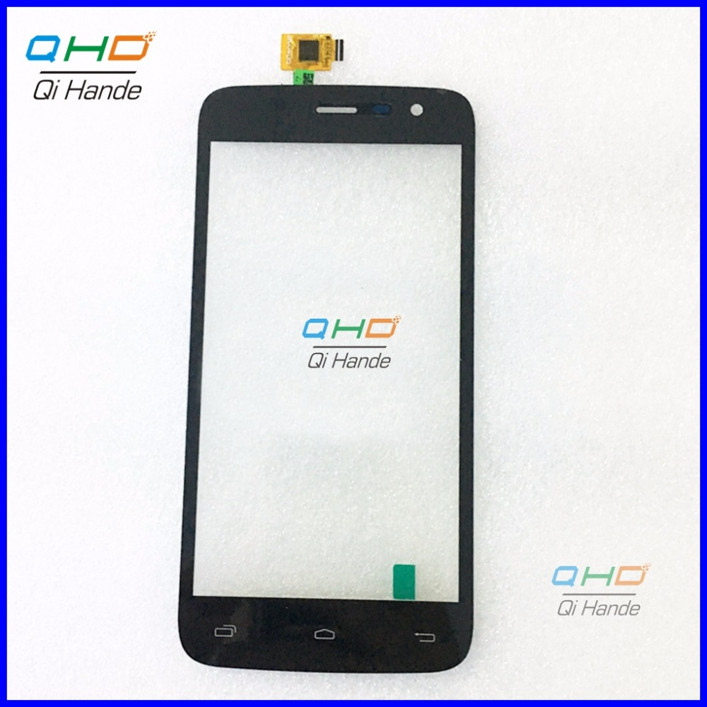 10pcs/lot Original New Black Touch Screen Digitizer Lens Glass Panel For dexp ixion e150 soul Free Shipping купить