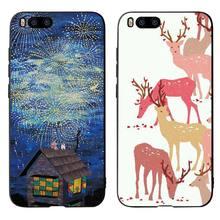 Cartoon Deer Cat Phone Cases Cover for Xiaomi mi A2 8 9 lite se case xiaomi redmi note 6 7 pro 5 Plus Soft