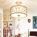 Nordic Küche Led Decke Lichter Kunst Kreative Kristall Schlafzimmer Halb Decke Licht Wohnzimmer Studie Led-leuchten Kostenloser Versand