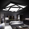 Современный квадратный светодиодный потолочный светильник для гостиной  спальни  семейного интерьера  потолочный светильник с регулируем...