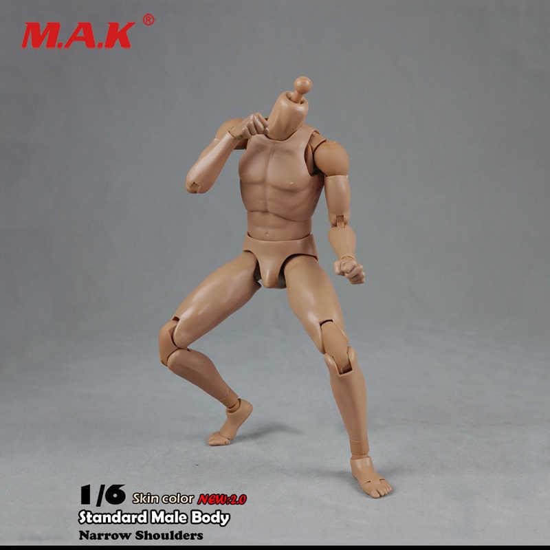 baaac6e015a COOMODEL-BD002 1/6 Scale Male Standard Body Type Narrow Shoulders 2.0 Male  27cm