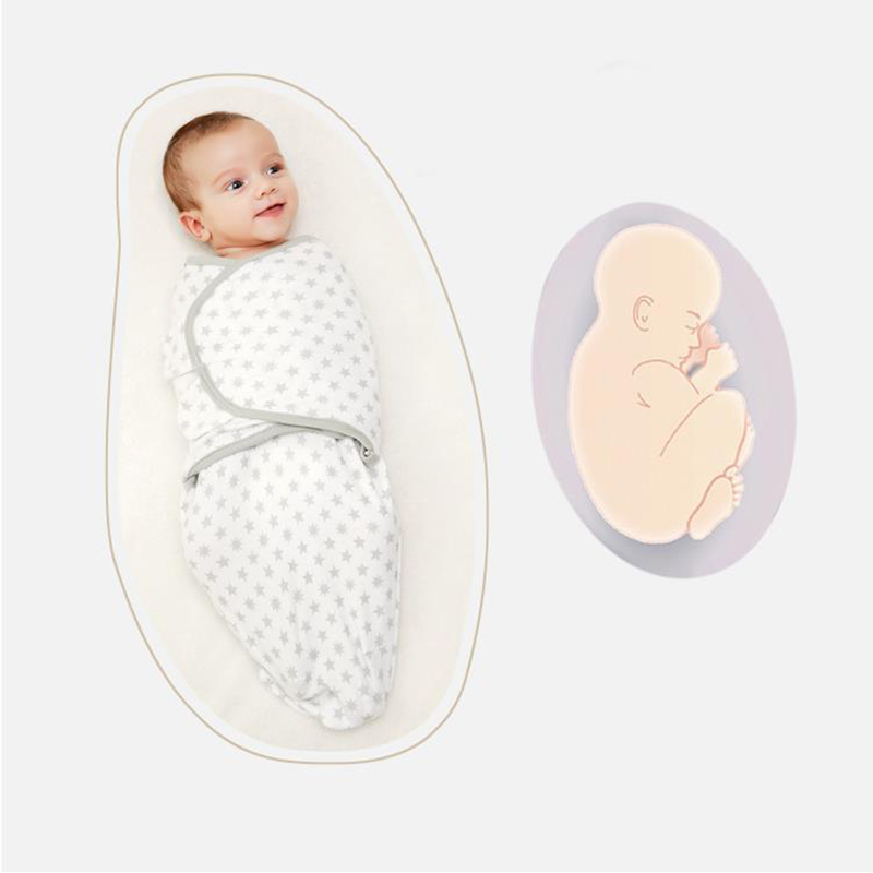 LionBear Cocoon Baby Envelope For Newborns 100% Cotton 0-3 Months Baby Sleeping Bag Feeding Blankets Soft Bathing Swaddle Scarf