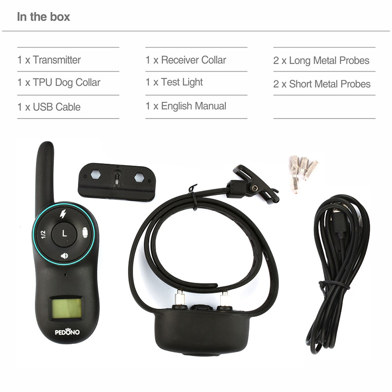 Original Bark Control for Dog Training Device with Remote Control Electric Dog Training Collar Shocker for Puppy Training Aids in Training Collars from Home Garden