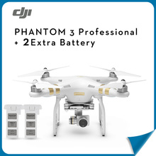 (In Store) DJI Phantom 3 Professional +Extra Battery Aerial RC Helicopter FPV Drone with Camera 4K HD Quadcopter Drone