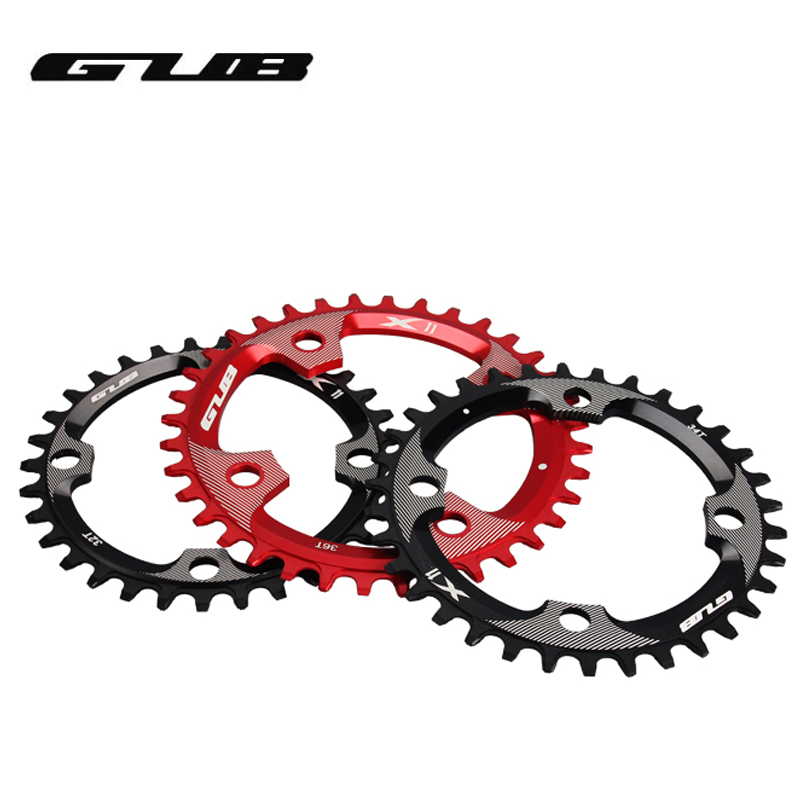 34T DECKAS Bike Narrow Wide Oval Chainring Chain Ring BCD 104mm Riding Racing