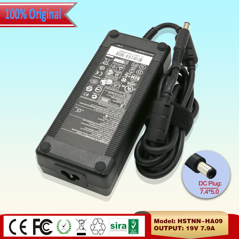 New Original 19V 7.9A 150W HSTNN-HA09 Power Supply for HP ELITEBOOK 6930P 8530P 8530W 608429-002 609943-001 A150A00AL-HW01