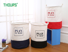 Thours Home Organization and Storage Large Laundry Basket Plan To Wash Toys Storage Bucket Washing Dirty Clothes Organizer Bin guidecraft book and bin storage