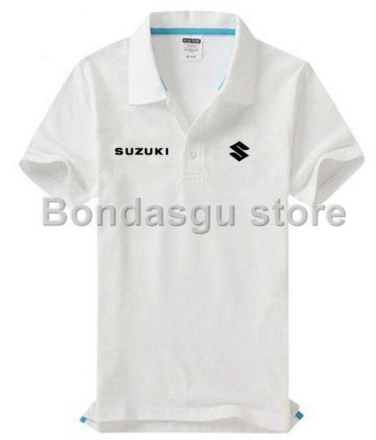 Suzuki Camisa Polo Sólidos Casual Polo Homme Roupas de marca Para as  mulheres e homens Tops 7baea2eedc532