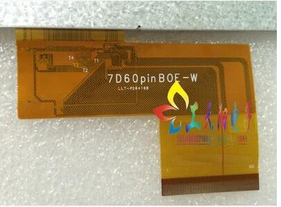 ZhiYuSun LCD display  60PIN  7 inch  on CAR GPS zhiyusun lcd hsd062idw1 a00 a01 a02 original 6 2 pulgadas pantalla para el coche gps