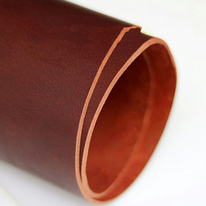 Image 4 - 純粋な革ベルトブレスレットレザースポットストリップ4ミリメートル厚さ140センチメートル長