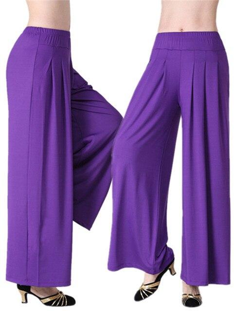 الرقص الشرقي بانت المرأة طويلة السراويل الحريم مشروط الرقص Trouses واسعة البطن الرقص بنطلون القبلية اللياقة البدنية سراويلي حريمي