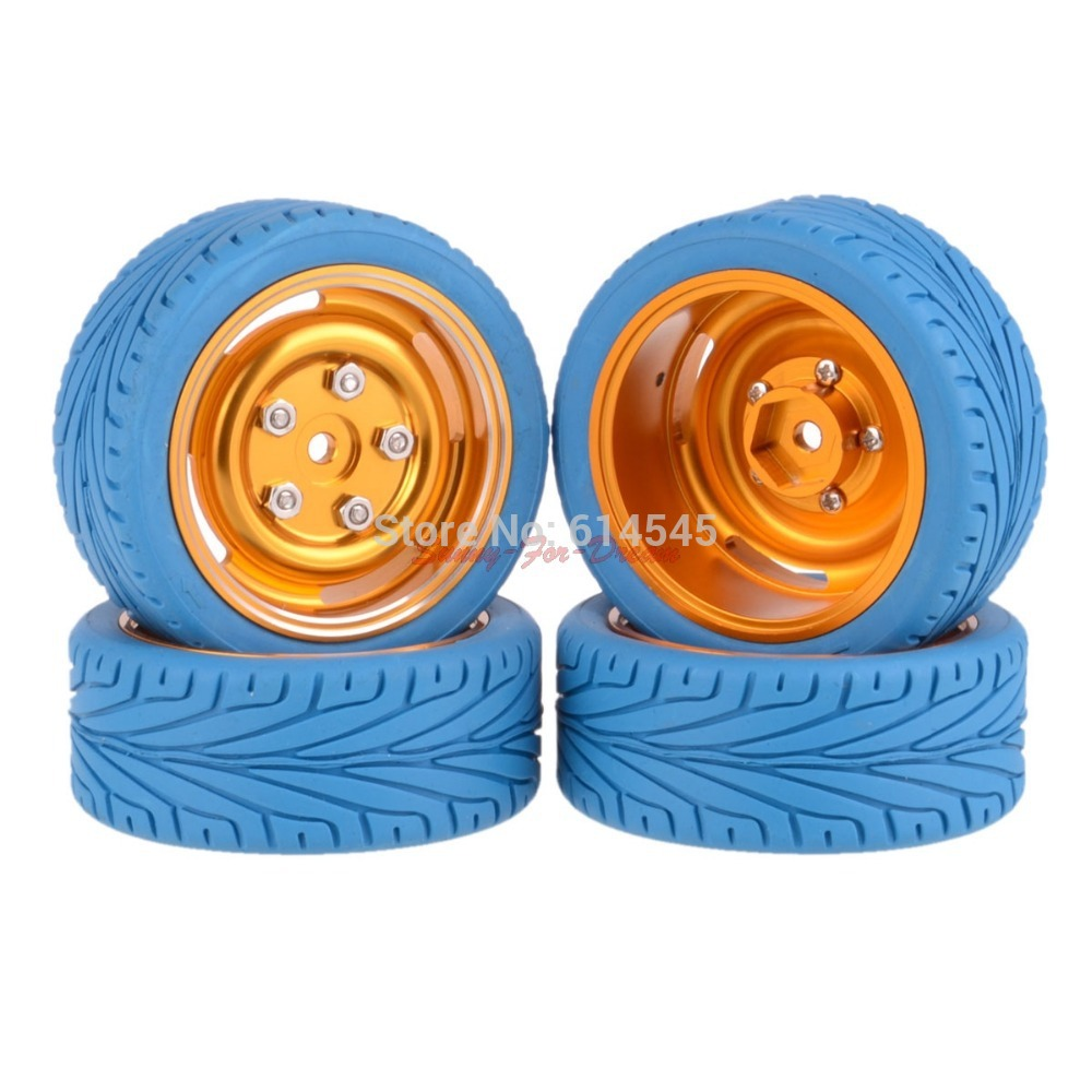 4PCS On-Road 12MM Hub HPI Redcat HSP Metal Wheel Rim & Tires 1/10 Car 104G-8012 oulupolis the history of oulu as an international city