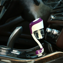 Car Charger Steam Air Humidifier Diffuser Aromatherapy Mist Maker Fogger 12V Free shipping