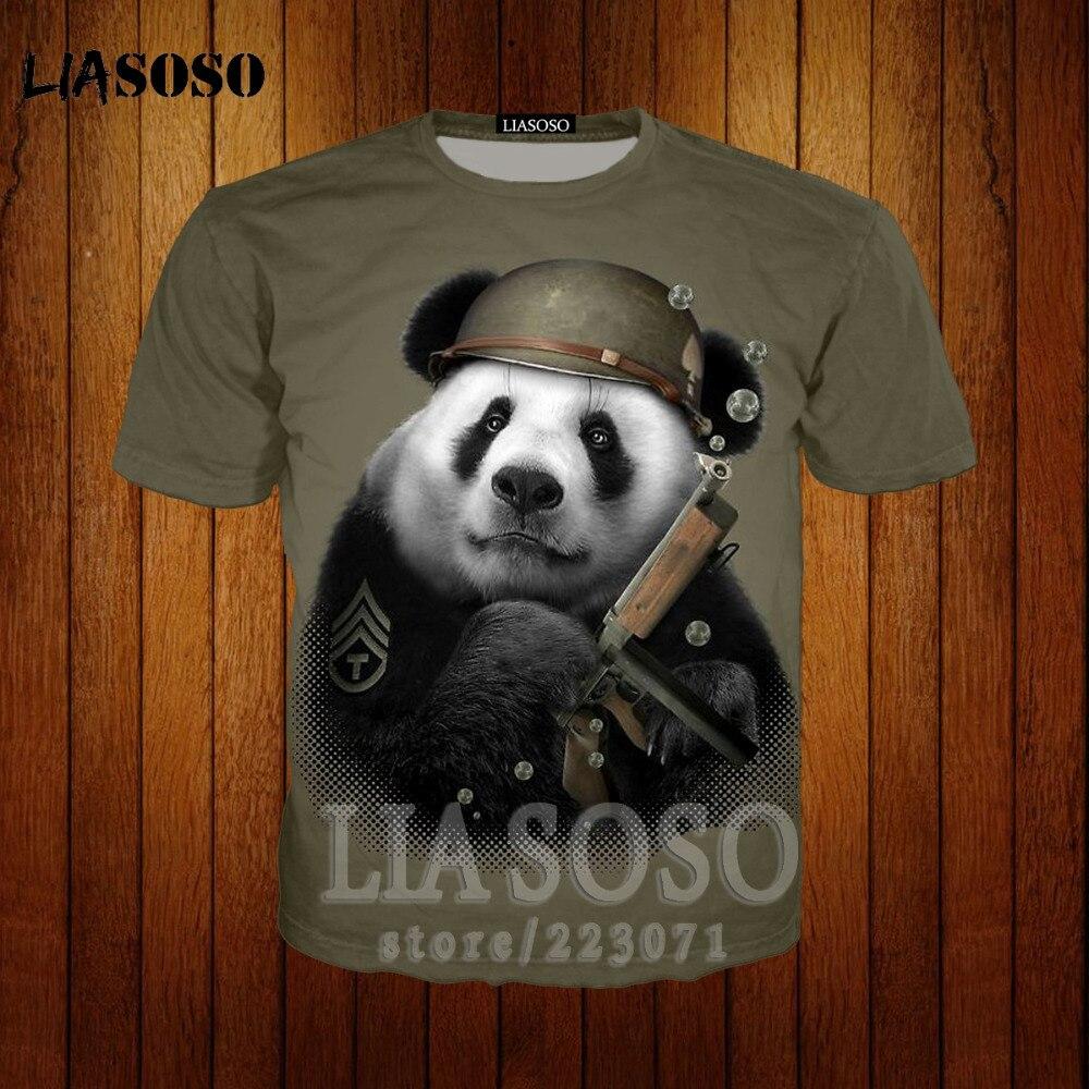 men Women panda Animal T Shirt Summer Short Sleeve 3D Printed Retro panda And Eye Girl T Shirts Tee sweatshirt hoodies q9 in T Shirts from Men 39 s Clothing