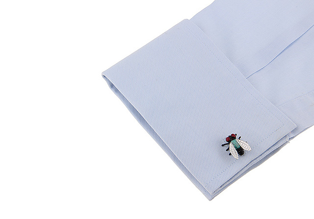 Igame Novelty Cufflinks Design Muti-color Painting Brass Material Cuff Links