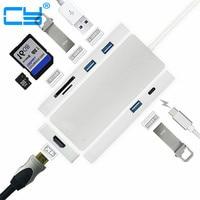 4K X 2K USB 3 1 Type C To HDMI 3 Ports USB 3 0 Hub