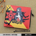 2016 new men Naruto Naruto anime wallet pu leather purse Wallpapers ferret mystery strongest Konoha genius soul