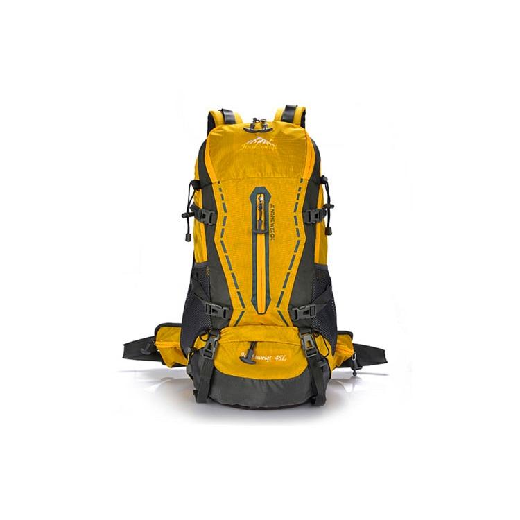 JINSHIWEIQI 45L External Frame Backpack 3D AIR CONVECTOR TECH ...