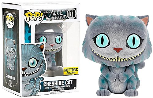 Exclusive Funko pop Official Alice in Wonderland - Cheshire Cat Flocked Vinyl Figure Collectible Model Toy with Original Box  exclusive funko pop official street fighter special attack ryu vinyl action figure collectible model toy with original box