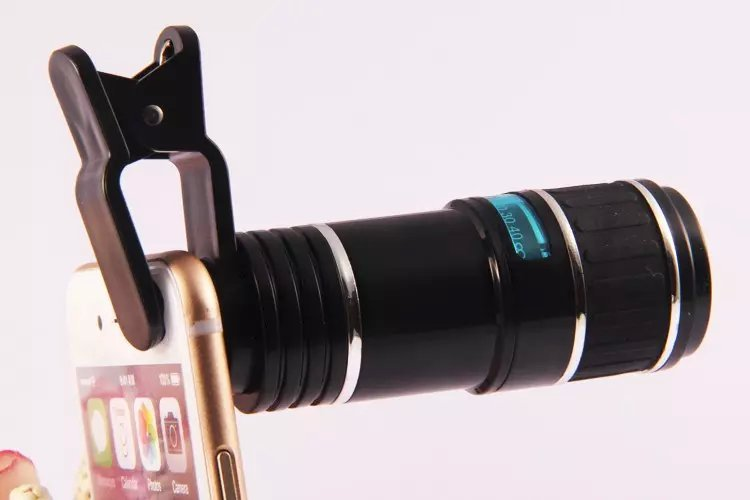 New arrival universal 12x optical zoom clip mobile phone telescope