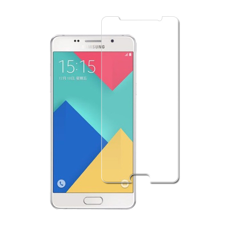 Protect smartphone 9H film Glass For Samsung Galaxy A5 2016 A510 Ultra thin Screen Protect Tempered glass retail package in Phone Screen Protectors from Cellphones Telecommunications