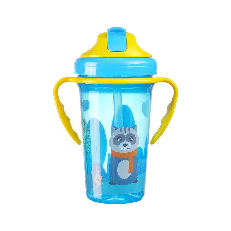 BPA Free New Baby Training Cup Infant Leak-Proof Cute Drinker Toddler Anti-fall Handle Bottles Kid Healthy Drink Kettle MY0052 (1)