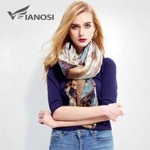 [VIANOSI] Новые Дизайн Для женщин шарф Элитный бренд платки Femme модные платочным принтом хлопковый шарф Для женщин Шарфы для женщин sjaal VR001