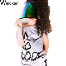 New Arrival 2016 Girls Boys T Shirt Short Sleeve Cotton Letter Print Gray Children Top Tees Fashion Kids T-Shirts