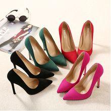 Fashio Stilettos Womens Shoes High Heels 12CM High Heels black Shoes Pumps Women Heels Sexy Pointed Toe Wedding Shoes For Woman