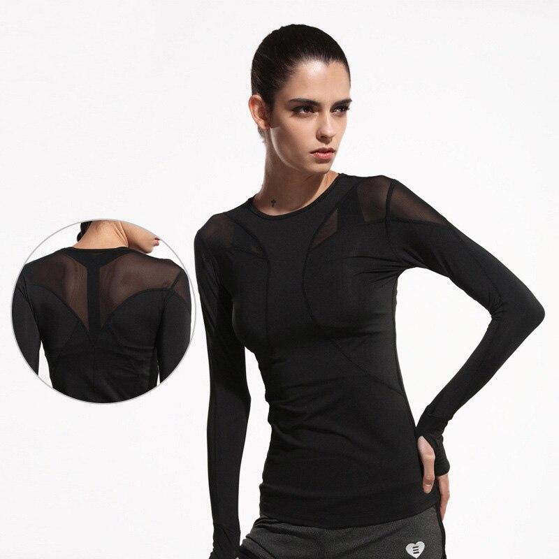 Յոգայի շապիկ Յոգայի լավագույն զուտ մանվածք սպորտային վերնաշապիկ կին ֆիտնես վարում հագուստ Deportiva Mujer մարզադահլիճ կանանց համար