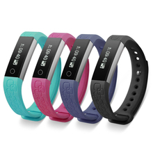 New Health Smart Wristband Bracelet With Heart Rate Sleep Monitor Wearable Fitness Tracker Waterproof for IOS Android System