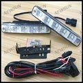 Universal Xenon Branco 10 W LED High Power Daytime Running Luz DRL Lâmpadas com On/Off Switch frete grátis
