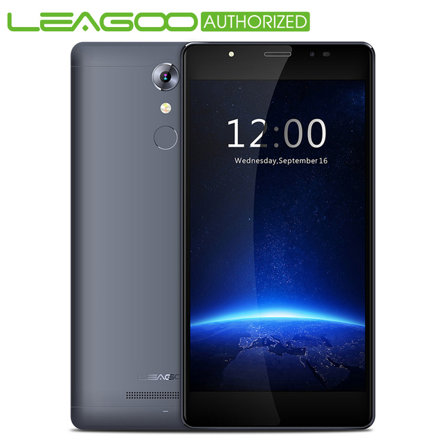 Original Leagoo T1 Plus MT6737 Quad Core Mobile Phone 3GB RAM 16GB ROM 5.5 Inch Android 6.0 Cell phones 4G LTE 13.0MP Smartphone