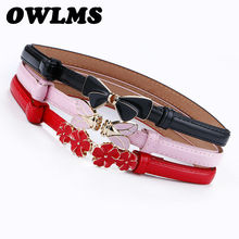woman belt Thin cummerbund Female Belts for Women clothing C