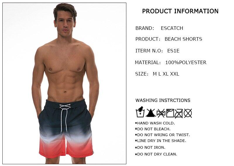 de Surf Mens Siwmwear Nadar Calças Curtas