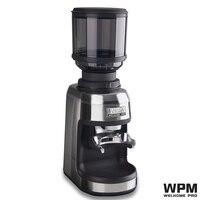 Welhome Professionele commerciële Welhome Espresso conische burr Grinder ZD 17N WPM PRO Conische Bramen Lampu LED koffie molen-in Elektrische Koffiemolens van Huishoudelijk Apparatuur op