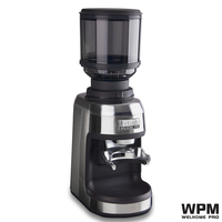 welhome Professional commercial Welhome Espresso conical burr Grinder ZD 17N WPM PRO Conical Burrs Lampu LED coffee mill
