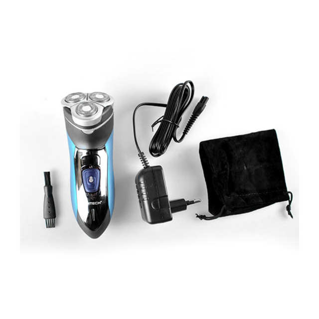 US $36 18  DSP Men's Shaver Trimmer Razors Beard With Three Safely Rotary  Heads Electric Shaver Waterproof-in Nose & Ear Trimmer from Beauty & Health