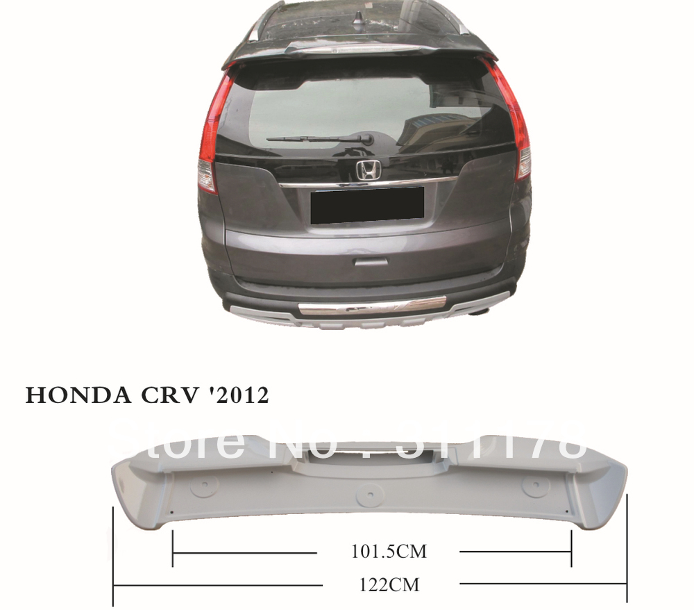 ABS spoiler car spoiler car rear spoiler for CRV 2012-2016