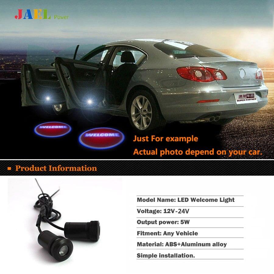 LED Car door welcome light courtesy led car laser projector Logo Ghost Shadow Light Case For New Citroen light