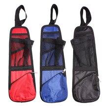 Купить с кэшбэком 3 Color Car Chair Side Pocket,Waterproof Car Travel Bags Magazine Storage,Phone Drink Debris Bag Nets,#R-169