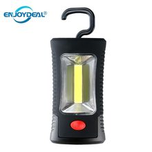 COB LED Magnetic Work Light//Pocket Torch Keychain Outdoor Camping Fishing Inspection Tent Lamp Hand Tool Garage Flashlight(China)