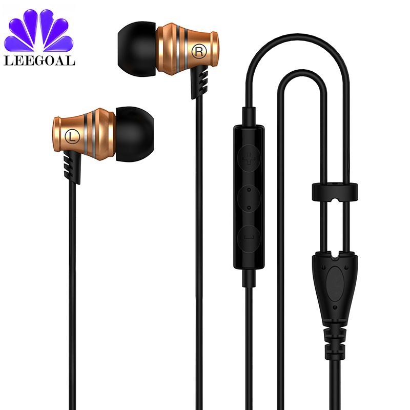 Leegoal H3 mounted bass earphone Foldable in-ear Mobile phone HIFI headset with mic For Android Windows Phone iOS leegoal mini earphone headset car charger 2 in 1 driver wireless bluetooth earphone for apple smart phone ios android