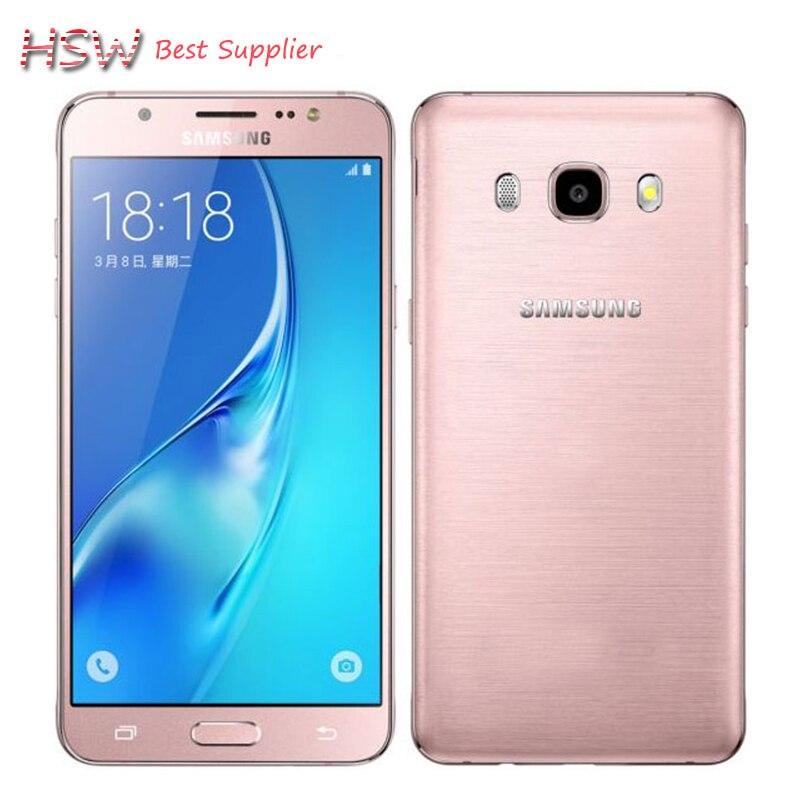 "bilder für 100% Original Samsung Galaxy 2016 J5 J5108 4G LTE Snapdragon 410 Quad Core 5,2 ""Dual SIM Smartphone 13.0MP NFC handy"