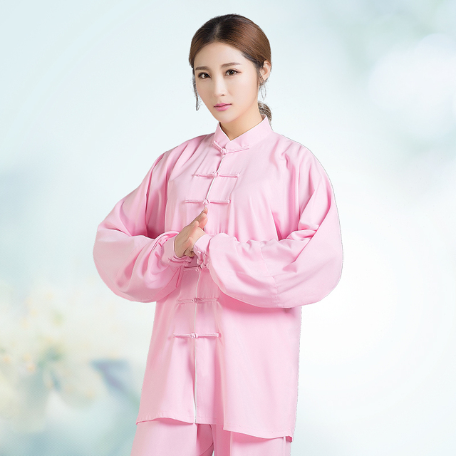 Uniforme de Tai Chi fait main pour homme et femme Wushu, Kung Fu, costume dart martial chinois, manches longues et courtes, couleurs multiples
