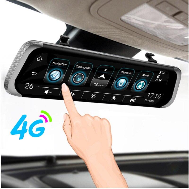 Anstar 4g Android Hd 1080p Car Dvr 10 Quot Mirror Auto Camera