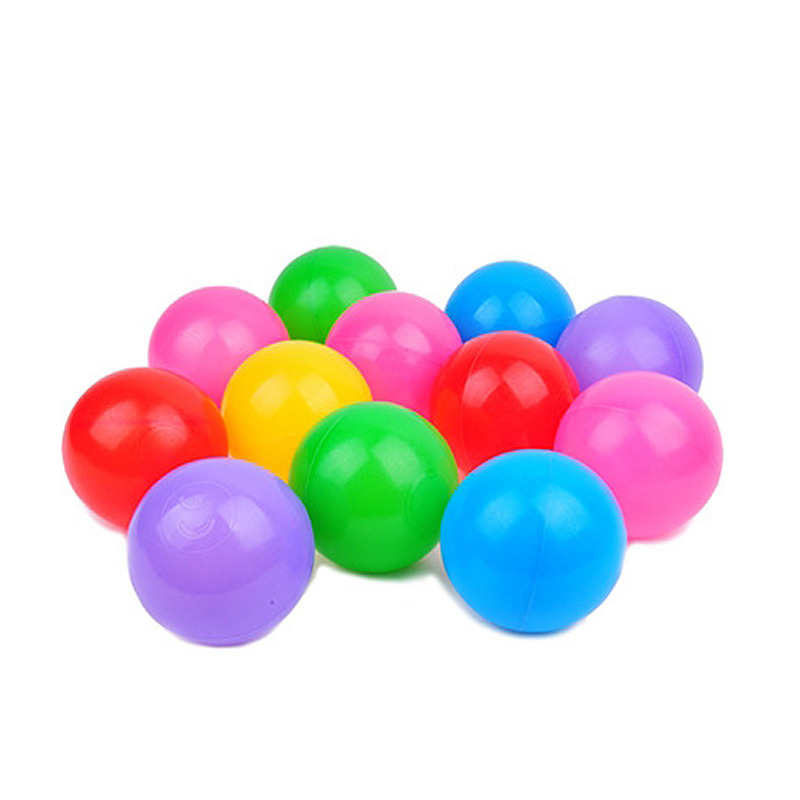 100pcs Colorful Ball Soft Plastic Ocean Ball Funny Baby